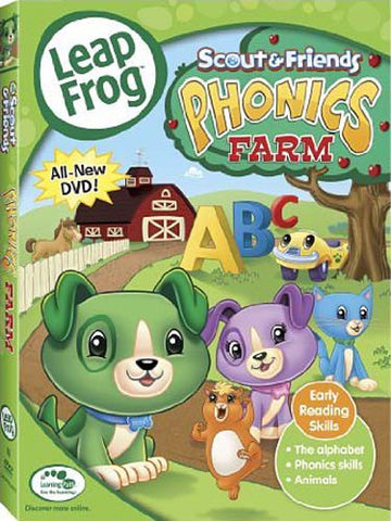 Leap Frog- Phonics Farm DVD Movie