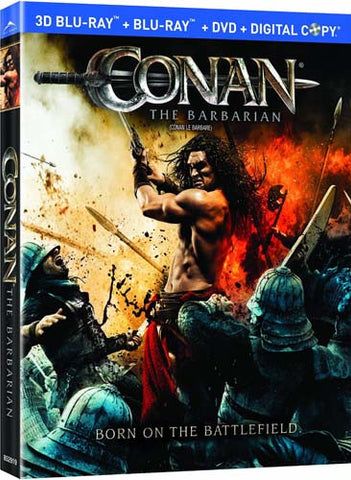 Conan the Barbarian (Two-Disc Blu-ray 3D/DVD Combo + Digital Copy) (Blu-ray) BLU-RAY Movie