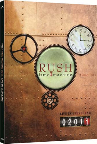Rush - Time Machine 2011 - Live in Cleveland DVD Movie