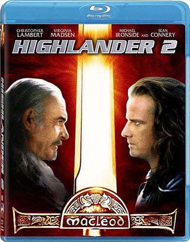 Highlander 2 (Blu-ray) BLU-RAY Movie