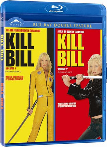 Kill Bill - Volume 1 And 2 (Double Feature) (Bilingual) (Blu-ray) BLU-RAY Movie