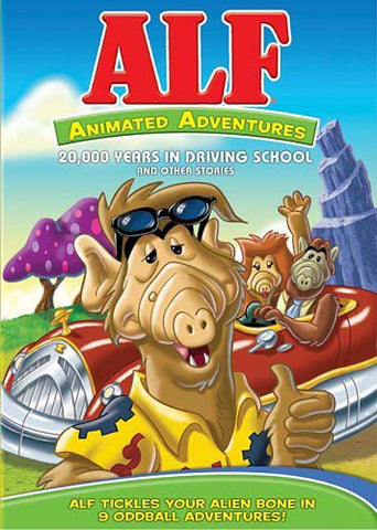 ALF - Animated Adventures - 20,000 Years in Driving School and Other Stories DVD Movie