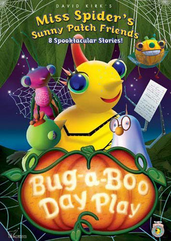 Bug-A-Boo Day Play (Miss Spider's Sunny Patch Friends) DVD Movie