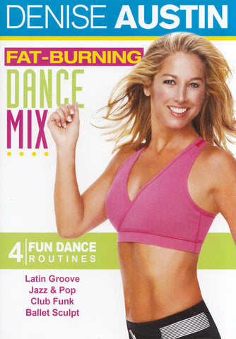 Denise Austin - Fat Burning Dance Mix (Maple) DVD Movie