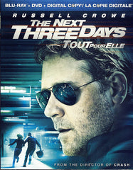 The Next Three Days (Blu-ray/DVD Combo + Digital Copy) (Bilingual) (Blu-ray)
