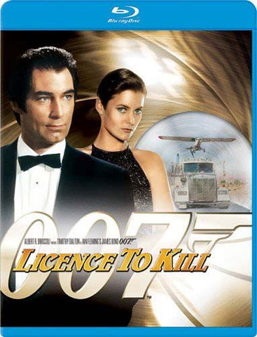 Licence to Kill (Blu-ray) BLU-RAY Movie