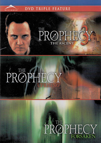 The Prophecy: The Ascent / The Prophecy Uprising / The Prophecy Forsaken (Triple Feature) DVD Movie