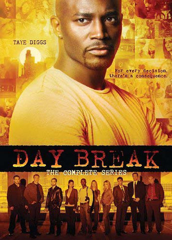 Day Break - The Complete Series (Taye Diggs) DVD Movie