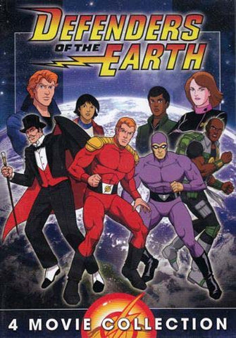 Defenders Of The Earth - 4 Movie Collection (Boxset) DVD Movie