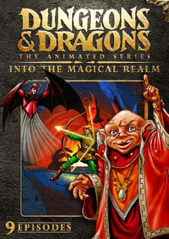 Dungeons And Dragons (The Animated Series) - Into the Magical Realm DVD Movie