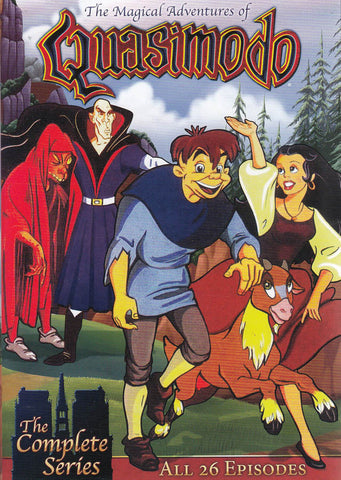 The Magical Adventures of Quasimodo - The Complete Series : All 26 Episodes DVD Movie