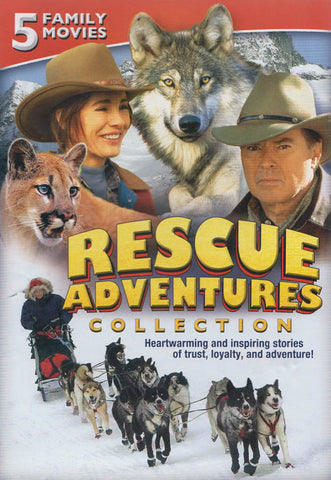 Rescue Adventures Collection (Legend of Cougar Canyon/George/Night of the Wolf/Poco/Toby McTeague) DVD Movie