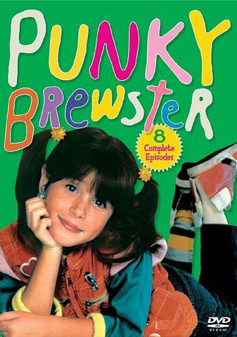 Punky Brewster - 8 Complete Episodes DVD Movie