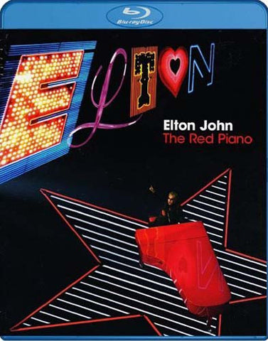 Elton John - The Red Piano (Blu-ray + 2-CD) (Blu-ray) BLU-RAY Movie