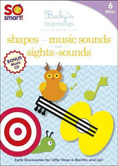 So Smart! Baby's Beginnings: Sights & Sounds/Shapes/Music Sounds/Bonus CD: Playtime (Boxset)