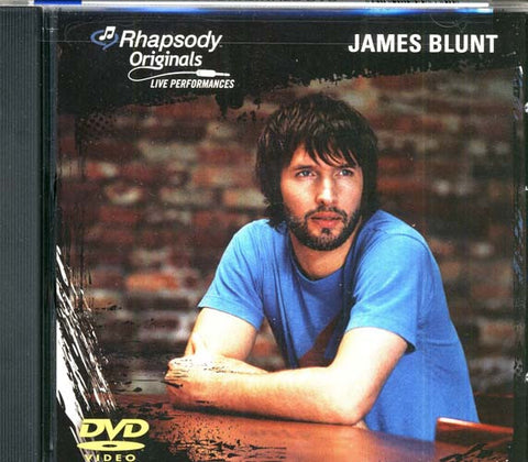 James Blunt - Rhapsody Originals - Live Perfromances DVD Movie