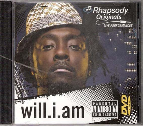 Will I Am - Rhapsody Originals DVD Movie