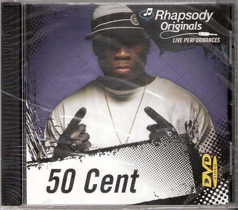 50 Cent - Rhapsody Originals (Audio CD) DVD Movie