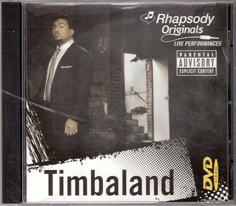 Timbaland - Rhapsody Originals DVD Movie
