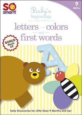 So Smart! Baby's Beginnings - Letters/First Word /Colors/Bonus CD: Sleepytime (Boxset) DVD Movie