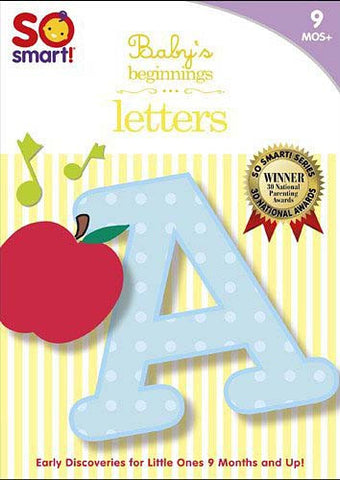 So Smart! Baby's Beginnings - Letters DVD Movie