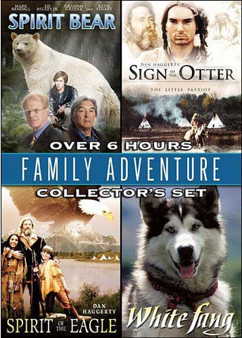 Family Adventure Collector's Set - Spirit Bear/Sign of the Otter/Spirit of the Eagle/White Fang DVD Movie
