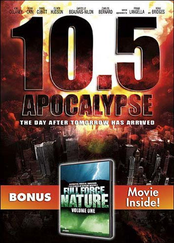 10.5 Apocalypse (With Bonus Movie - Full Force Nature Volume one) DVD Movie