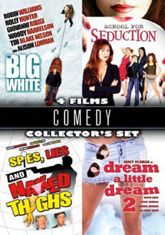 Comedy Collector s Set (Big White / School For Seduction / Spies, Lies / Dream A Little Dream 2) DVD Movie