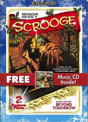 Scrooge (With Bonus CD: Greatest Christmas Collection) (Boxset) DVD Movie