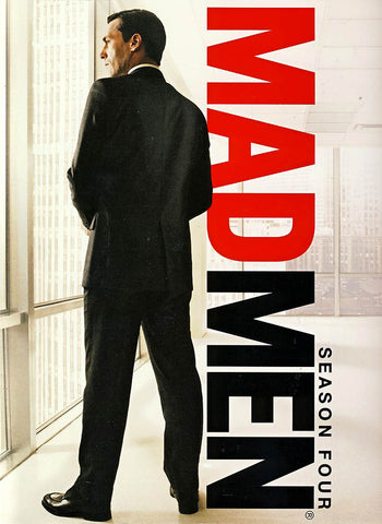 Mad Men - Season Four (4) (Boxset) (White Cover) DVD Movie