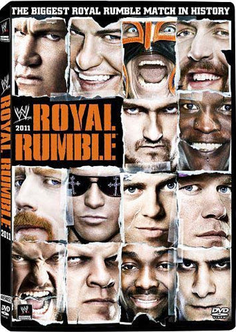 WWE - Royal Rumble 2011 DVD Movie