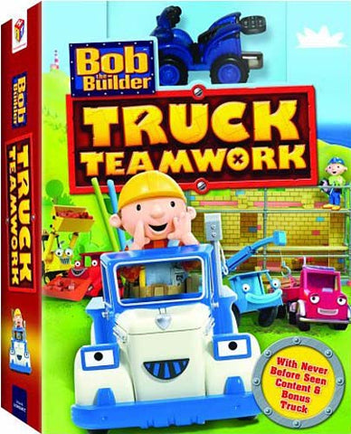 Bob The Builder - Truck Teamwork (With Toy) (Boxset) DVD Movie
