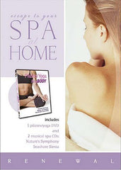 Spa at Home - Pilates/Yoga for Any Body with 2 CDs - Nature's Symphony and Seashore Siesta (Boxset)