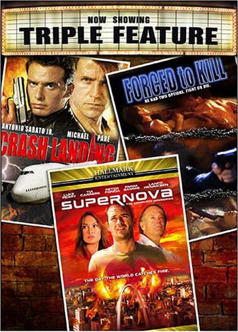 Crash Landing / Forced to Kill / Supernova (Boxset) DVD Movie