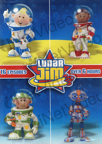 Lunar Jim (16 Episode) DVD Movie