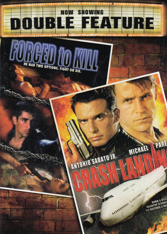 Forced To Kill/Crash Landing (Double Feature) DVD Movie