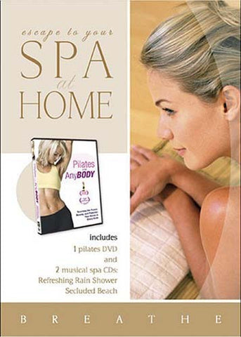 Spa at Home - Pilates for Any Body(With 2 Music CDs - Refreshing Rain Shower/Secluded Beach)(Boxset) DVD Movie