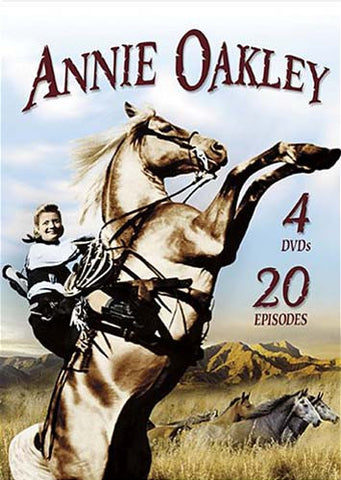 Annie Oakley (4-DVD Set - 20 Episodes) (Boxset) DVD Movie