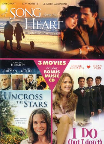 A Song From The Heart/Uncross The Stars/I Do (But I Don't) (Triple Feature) (With Music CD-Moonlight DVD Movie