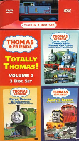 Thomas And Friends - Totally Thomas - Volume 2 (With Toy) (Boxset) DVD Movie