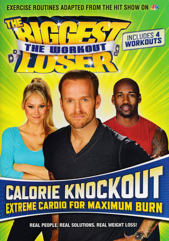 The Biggest Loser - The Workout - Calorie Knockout DVD Movie