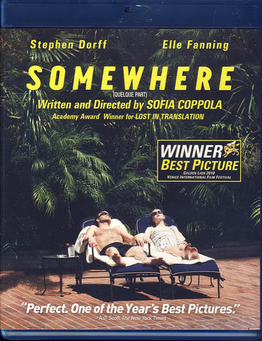 Somewhere (Blu-ray) BLU-RAY Movie