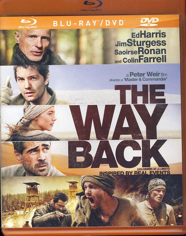 The Way Back (Combo Blu-Ray + DVD On One Disc) (Bilingual)(Blu-ray) BLU-RAY Movie