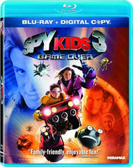 Spy Kids 3 - Game Over Combo (Blu-Ray + Dvd + Ecopy) (Blu-ray)