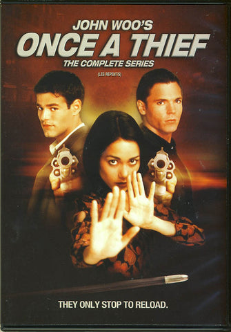 John Woo's Once A Thief - The Complete Series (Boxset) DVD Movie