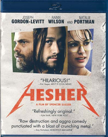 Hesher (Blu-ray) BLU-RAY Movie