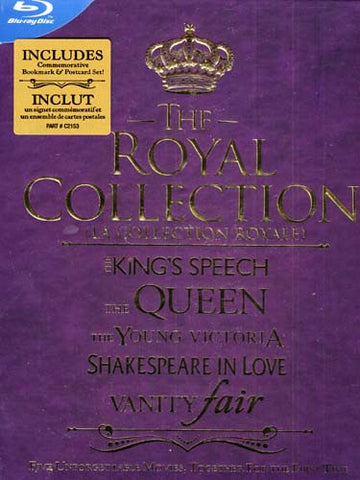 The Royal Collection (Bilingual) (Blu-ray) (Boxset) BLU-RAY Movie