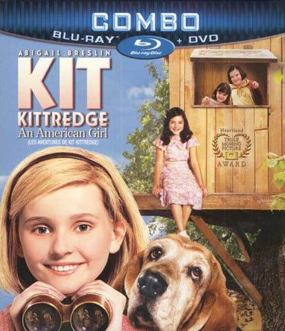 Kit Kittredge - An American Girl (DVD+Blu-ray Combo) (Bilingual) (Blu-ray) BLU-RAY Movie