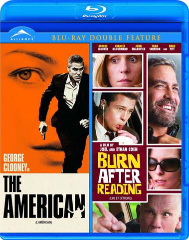 The American/Burn After Reading (Double Feature) (Bilingual) (Blu-ray) BLU-RAY Movie