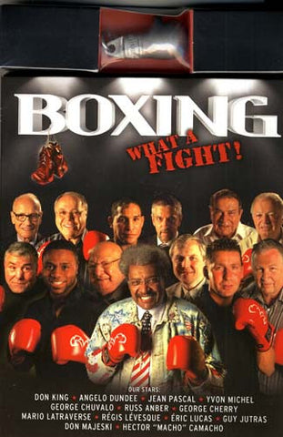 Boxing - What A Fight! (With Boxing Glove Key Chain) (Boxset) DVD Movie
